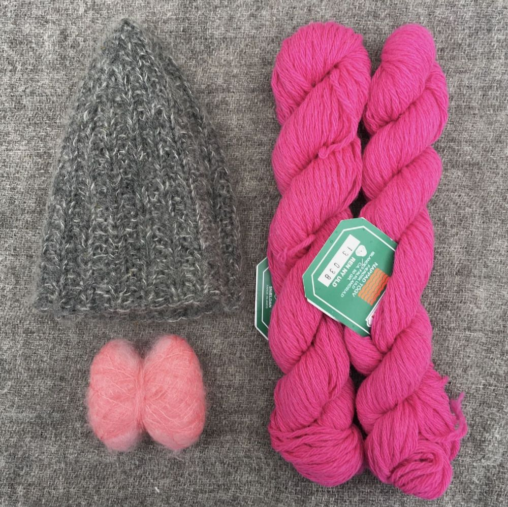 "Kit: ""Signal Rock"" hat - Flamingo"